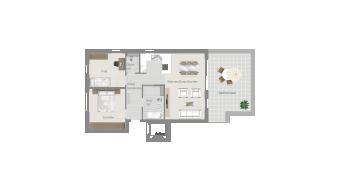 Stammheim 3 1/2 Zimmer T6-7B