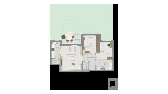 Kornwestheim 3 1/2 Zimmer Q8 - 2A