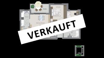 Kornwestheim 3 1/2 Zimmer Q8 - 6A