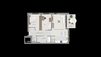 Sachsenheim 3 1/2 Zimmer M8-05