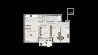 Sachsenheim 4 1/2 Zimmer M8-07