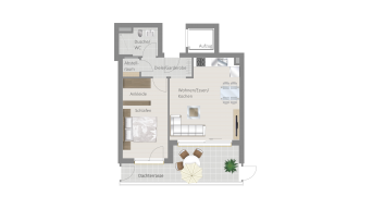 Sachsenheim 2 1/2 Zimmer M8-14