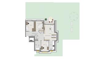 Neckarweihingen 4 1/2 Zimmer V6 - 2B