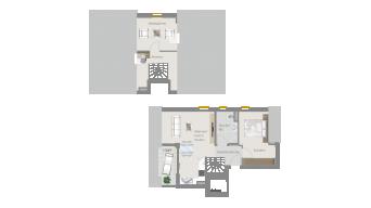 Neckarweihingen 3 1/2 Zimmer V6 - 6A