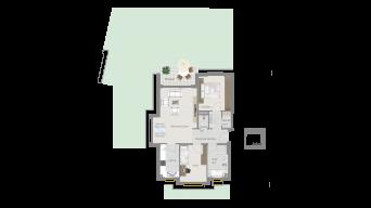 Neckarweihingen 3 1/2 Zimmer V6 - 1B