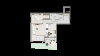 Sachsenheim 3 1/2 Zimmer P8-W4