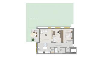 Sachsenheim 3 1/2 Zimmer P8-W5