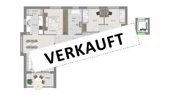 Kornwestheim 4 1/2 Zimmer Q8 - 12B