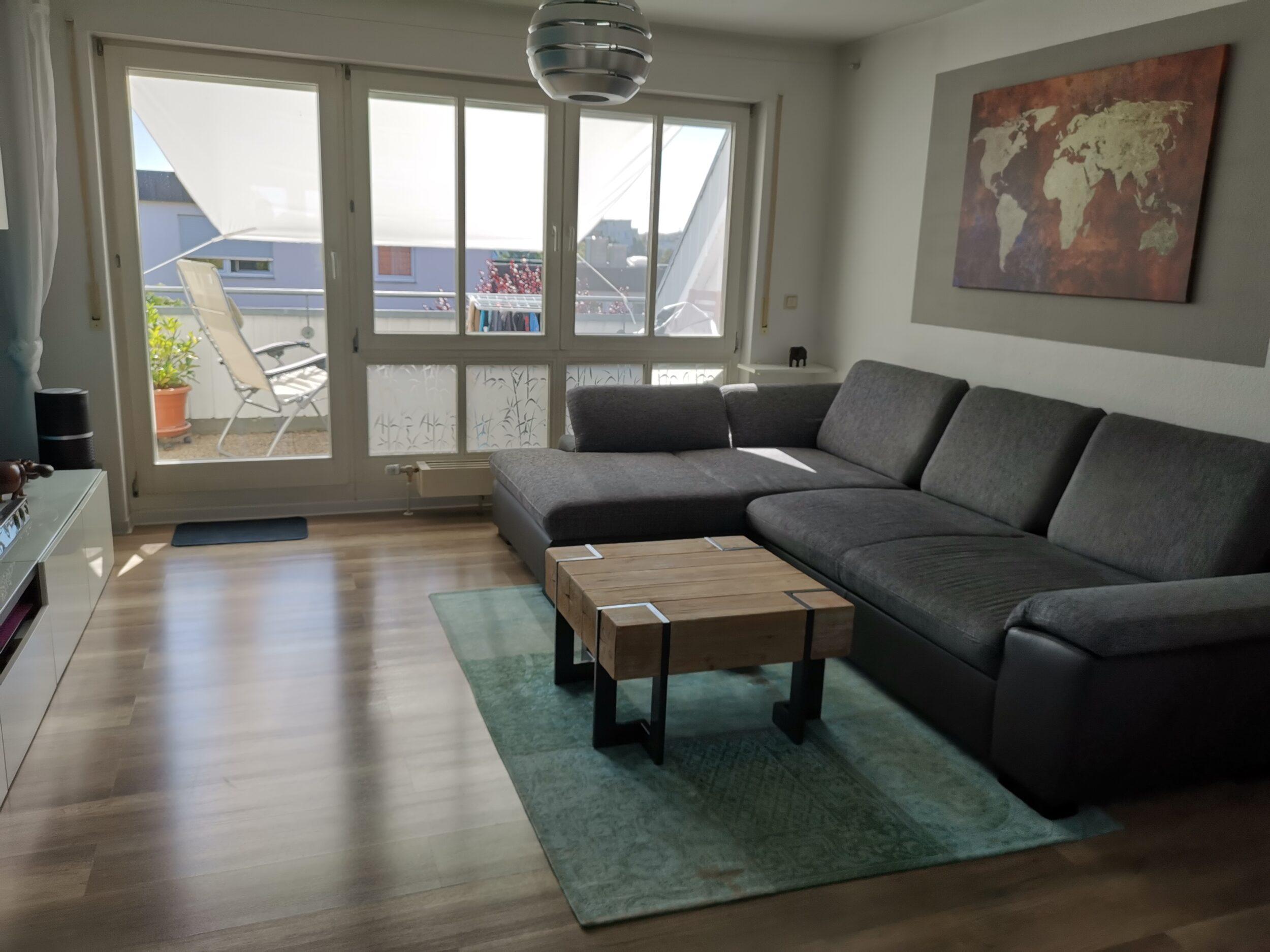 Freiberg- Traumhafte 3,5 Zimmer Wohnung im Dachgeschoss mit zwei Loggien!