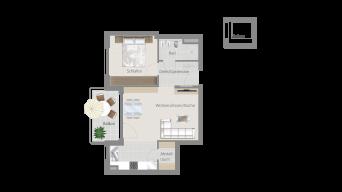 Erligheim 2 1/2 Zimmer E9 - 6D