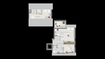 LB-Poppenweiler 3 1/2 Zimmer O8 – 7A