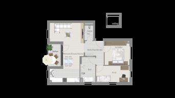LB-Poppenweiler 3 1/2 Zimmer O8 – 3C