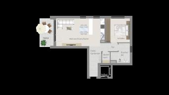 Fellbach 2 1/2 Zimmer V8 – 6B