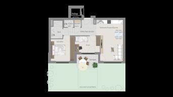 Korntal 3 1/2 Zimmer R7 – 2C