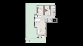 Korntal 3 1/2 Zimmer R7 – 3D