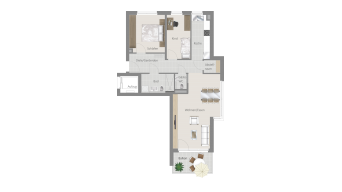 Korntal 3 1/2 Zimmer R7 – 4E