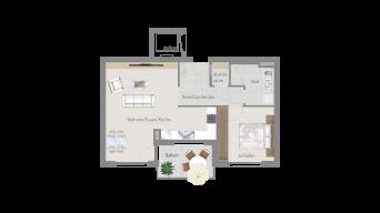 Korntal 2 1/2 Zimmer R7 – 5B