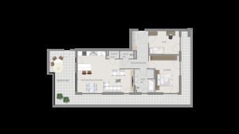 Löchgau 3 1/2 Zimmer Z8 – 11C