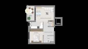 Erligheim 2 1/2 Zimmer E9 – 5B