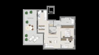 Erligheim 3 1/2 Zimmer E9 – 7B PH