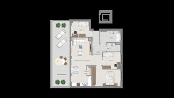Erligheim 4 1/2 Zimmer E9 – 7C PH