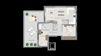 Erligheim 3 1/2 Zimmer E9 – 8A PH