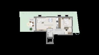 Fellbach 2 1/2 Zimmer V8 – 2C