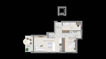 Fellbach 3 1/2 Zimmer V8 – 7B